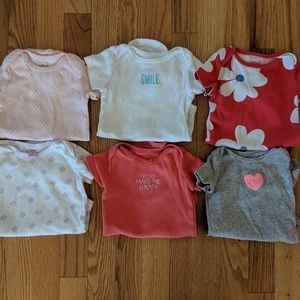 Short Sleeve Onesie Bundle Size 6-9 Months